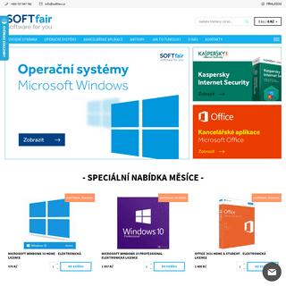 ArchiveBay.com - softfair.cz - - Softfair - prodej softwaru, Windows, Office, Kaspersky Internet Security