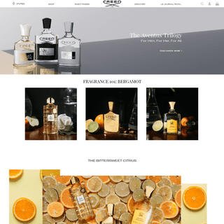 Creed Boutique - Official US and Canada Creed perfume, fragrance & cologne online shop