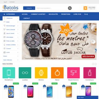 Batolis.com - Vente et achat en ligne en Algérie - Batolis.com