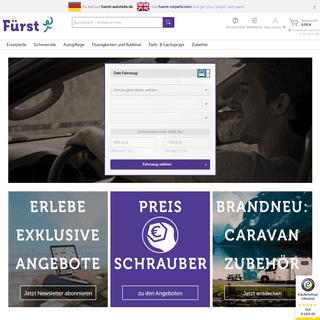 Ersatzteile & Zubehör Günstig Bestellen - Fürst Autoteile - Fürst-Autoteile