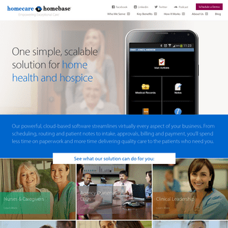 America's #1 Home Health Software- Homecare Homebase