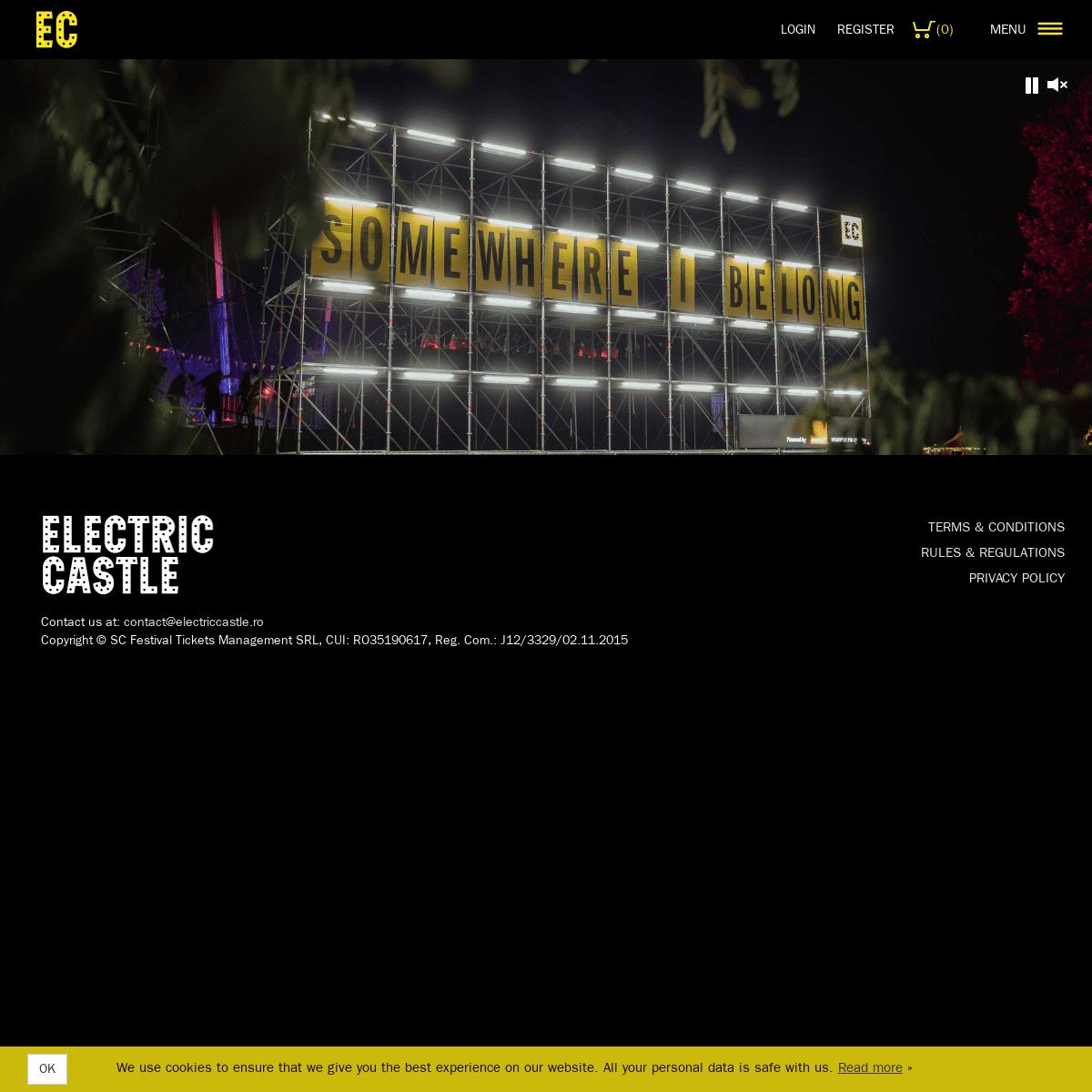 Electric Castle - July 17-21 2019, Banffy Castle, Cluj, Romania
