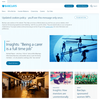 Barclays Corporate Communications - Barclays