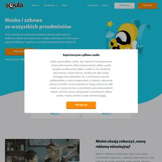 ArchiveBay.com - squla.pl - Home - Squla – nauka przez zabawę naprawdę działa!