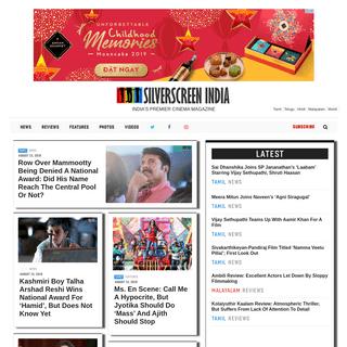Silverscreen.in – Tamil Movies - News -Reviews - Interviews - Photos.