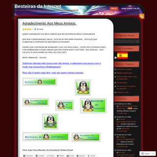 ArchiveBay.com - besteirasdainternet.wordpress.com - Besteiras da Internet - Aqui você encontra de tudo um pouco,e é atualizado diariamente.