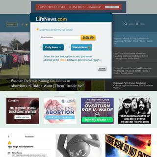 ArchiveBay.com - lifenews.com - LifeNews.com - The Pro-Life News Source