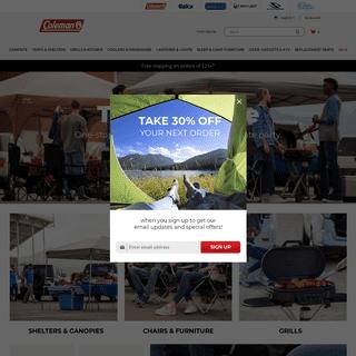 Coleman - Outdoor Camping Gear & Equipment