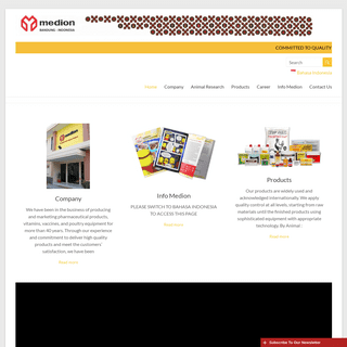 Medion – Committed to Quality and Customer Satisfaction