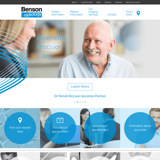 Benson Radiology - MRI, X-Ray, Ultrasound in Adelaide