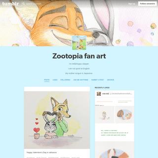 Zootopia fan art