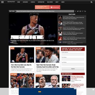 Heat Nation - Miami Heat News and Rumors 24-7