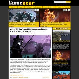 PC Game Reviews, News, Opinions and Critique - Gamesear