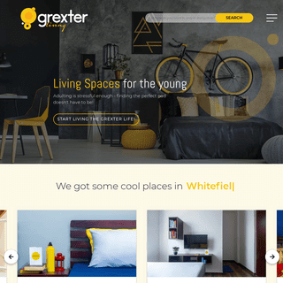 Coliving Accommodations-Apartments In Bangalore - Grexter