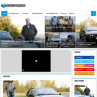 MotoringBox – The Grand Tour, Top Gear, Wheeler Dealers, Car News & More.