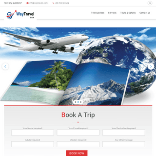 WayTravel Co. Ltd – We are here to take you there