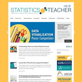 Statistics Teacher