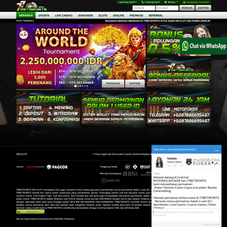 Situs Agen idn Slot poker Casino Online idnplay idnsport Terpercaya di Indonesia