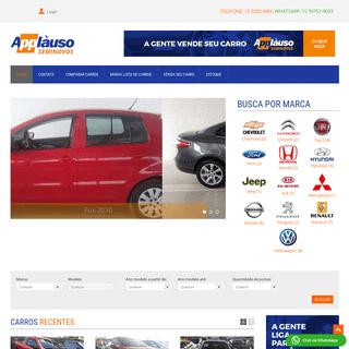 Applàuso - Seminovos em Tatuí SP - Melhores ofertas de carros seminovos em Tatuí - SP.