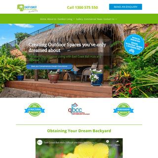 Gazebos - Bali Huts - Decking - East Coast Bali Huts And Gazebos