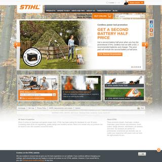 Pro & Domestic Garden and Power Tools - STIHL GB - STIHL
