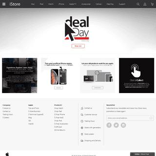 Shop Online at iStore - Get Apple Products Sent To Your Door