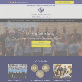 Faithful Guardian Training Center - CPR Classes - Temple, GA