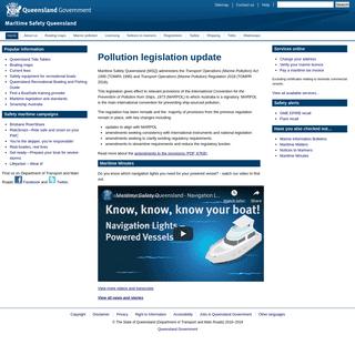 ArchiveBay.com - msq.qld.gov.au - Home (Maritime Safety Queensland)