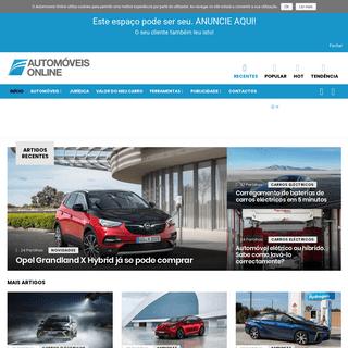 Automoveis Online - O Automagazine de notícias e dicas sobre automoveis, notícias auto, garantia automóvel, testes auto, comp