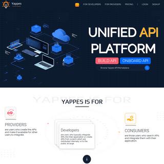 Yappes - Unified API Platform