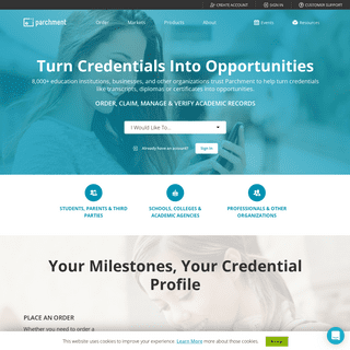 Digital Credential Service - Parchment
