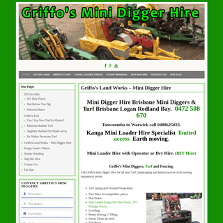 ArchiveBay.com - kanga-mini-loader-hire.net - Mini Loader Hire Brisbane Mini Diggers Trenchers Post Holes 0466888215