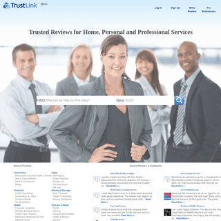 ArchiveBay.com - trustlink.org - TrustLink - Trusted Reviews for Home, Personal and Professional Services