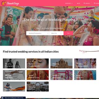 ArchiveBay.com - shaadisaga.com - ShaadiSaga - India's most trusted Wedding Planning platform
