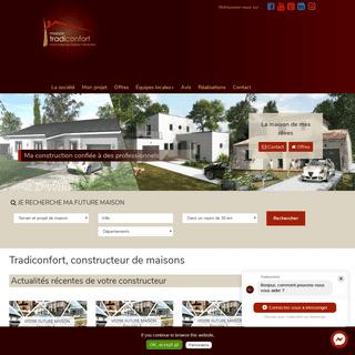 ArchiveBay.com - tradiconfort.com - Constructeur de maisons individuelles - Tradiconfort