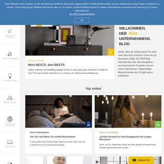 hej und willkommen. - IKEA Unternehmensblog