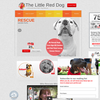 The Little Red Dog