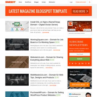 Sneeit - Wordpress Themes & Blogger Templates