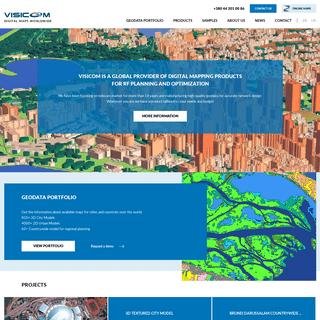 Visicom — Digital maps worldwide