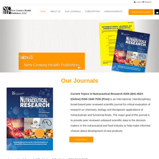A complete backup of nchpjournals.com