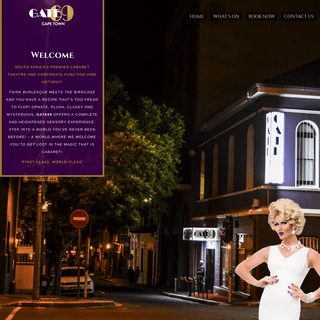 Gate69 Cape Town - South Africa's Premier Cabaret Theatre