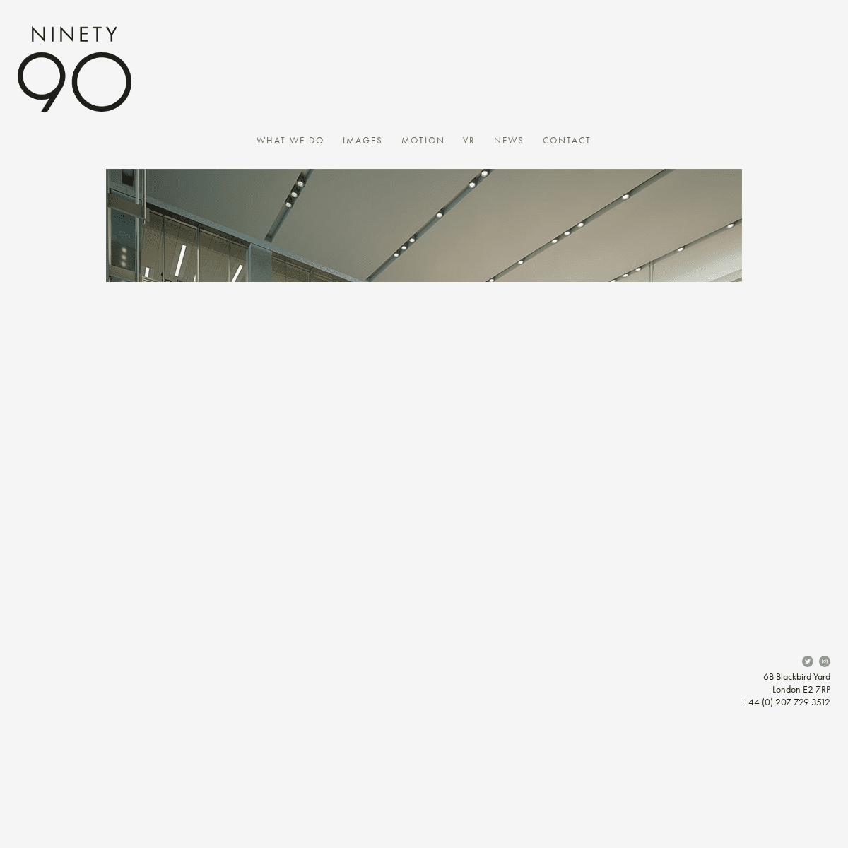Ninety90 - 3D Visualisation Studio