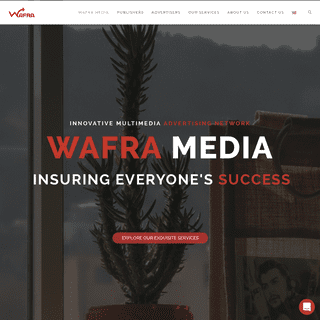 WafraMedia – The Leading Ad Network for the Arab World