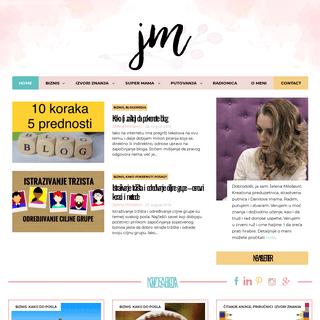 Jelena Milošević - Personalni blog