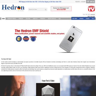 Hedron Life Source - Patented EMF Protection For Body, Home, and all Electronic Devices