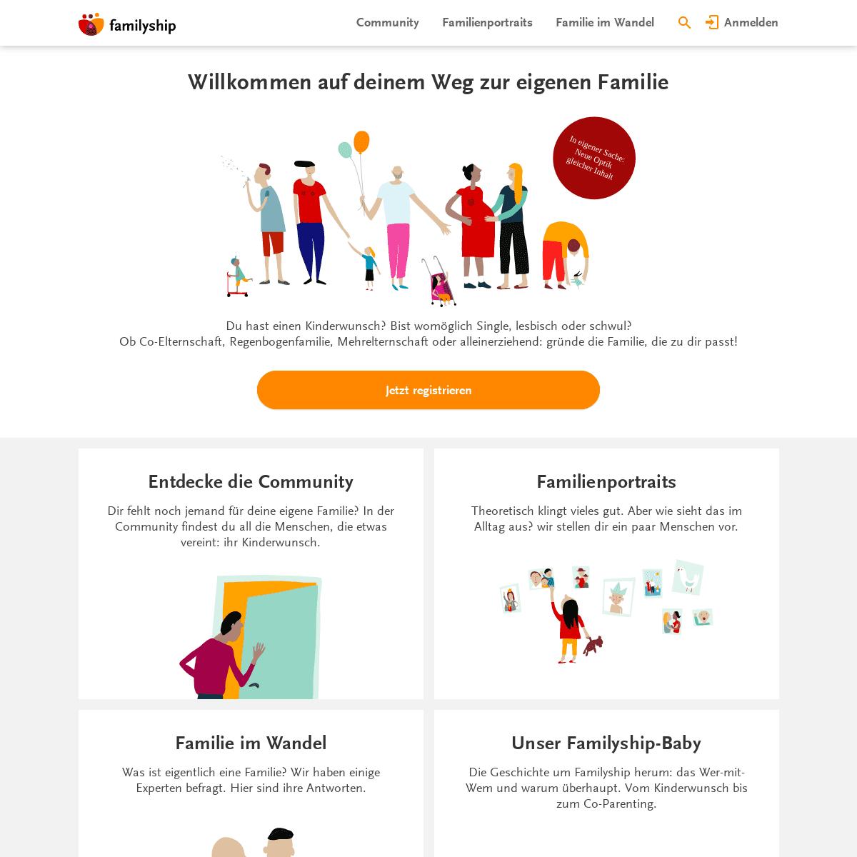 ArchiveBay.com - familyship.org - Familyship- Plattform zur Familiengründung & Co-Parenting