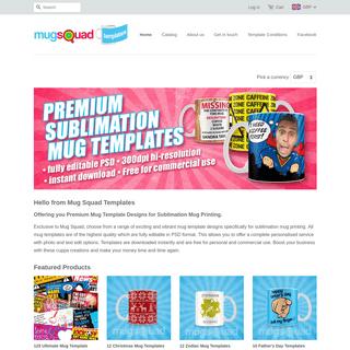 Premium Mug Template Designs for Sublimation Printing – Mug Squad Templates