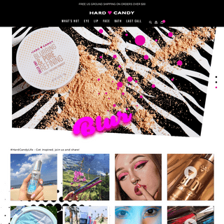 Hard Candy Cosmetics. Eye. Lip. Face. The Official Store.