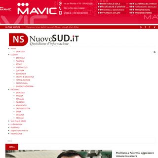 ArchiveBay.com - nuovosud.it - Nuovo Sud - Notizie e Approfodimenti di cronaca e politica in Sicilia