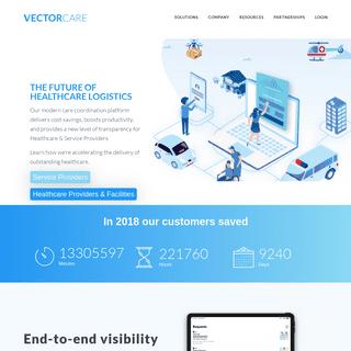 VectorCare- Healthcare Logistics Made Easy
